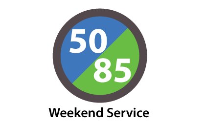 Route 50 85 W button